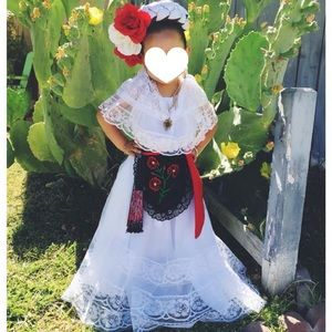 ❤️VeraCruz Folorico Traditional Dress Size 5-6